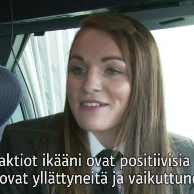Uutisvideot: Maailman nuorin lentokapteeni saa välillä kauhistuneita katseita