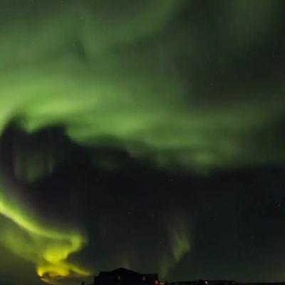 Uutisvideot: Islannin revontulet