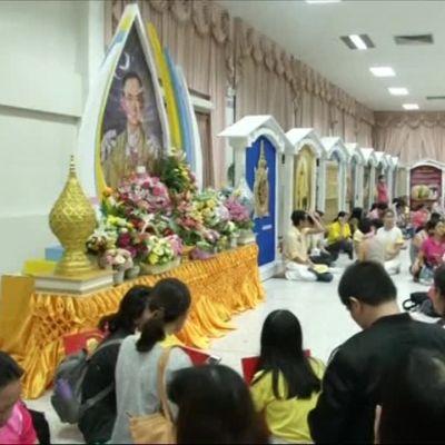 Uutisvideot: Thait surevat kuollutta kuningastaan