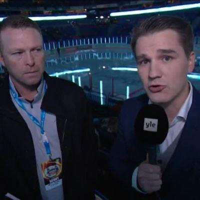 Jääkiekon EHT: Martin Brodeur Yle Urheilun vieraana
