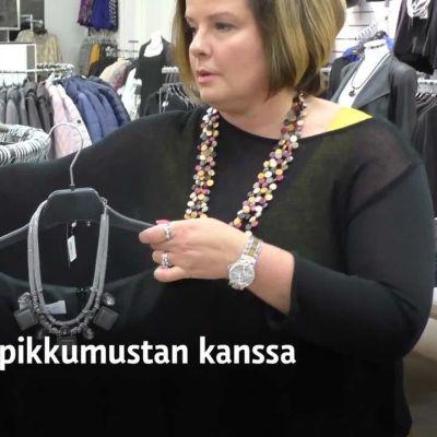 Yle Uutiset Häme: Pikkumustalla pikkujouluun - muista bling bling!