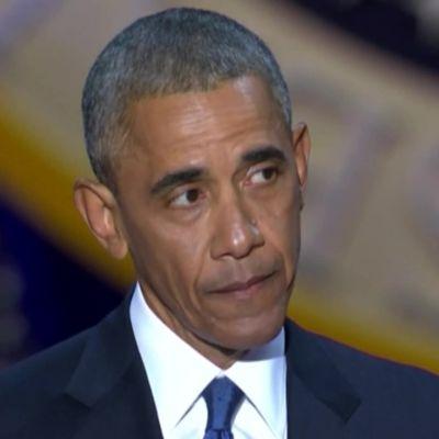 Uutisvideot: Obama liikuttui kyyneliin kiittäessään vaimoaan