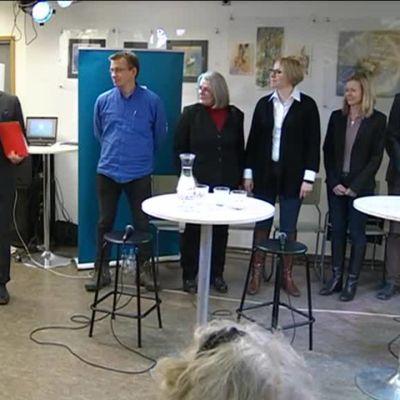 Uutisvideot: Ylen kirjeenvaihtajat ja Matti Rönkä kohtasivat
