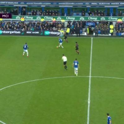 Valioliiga: Maalikooste: Everton - Manchester City