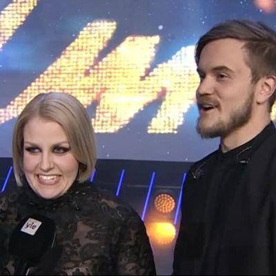UMK17: Suomen Euroviisuedustajaksi valittu Norma John: Olimme kisan musta hevonen