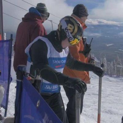 Urheilujuttuja: Kisalasku: Suur-Hamarille MM-kultaa banked slalomissa