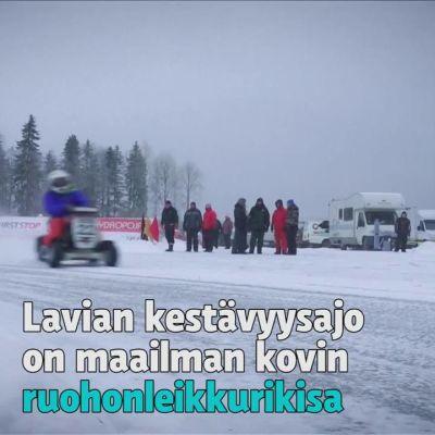 Uutisvideot: Ukkosta ja rautaisia mimmejä jääradalla!