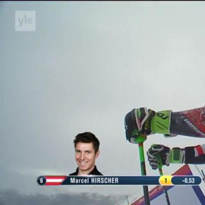 Alppihiihdon MM: Marcel Hirscher laski suurpujottelun maailmanmestariksi
