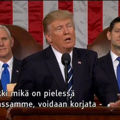 Uutisvideot: Trump lupaa korjata Yhdysvaltojen ongelmat