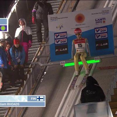 MM-Lahti, päivän tapahtumat: Antti Aalto karsinnan ykkönen