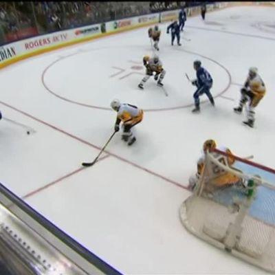 Kasperi Kapasen ensimmäinen maali NHL:ssä