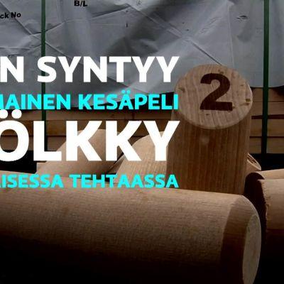 Yle Uutiset Lounais-Suomi: Porin Mölkky-tehdas tavoittelee miljoonan pelin vuosituotantoa