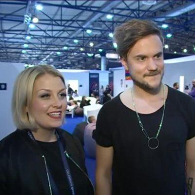 Uutisvideot: Norma John Euroviisujen kynnyksellä