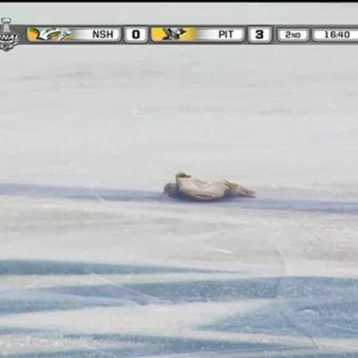 NHL: Monni lensi jäälle Stanley Cup -finaalissa