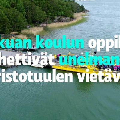 Yle Uutiset Lounais-Suomi: Koululaisten unelmat nousivat lossilta taivaan tuuliin