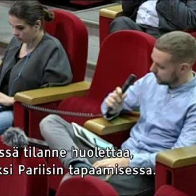 Uutisvideot: Ylen toimittaja sai kutsun Tšetšeniaan