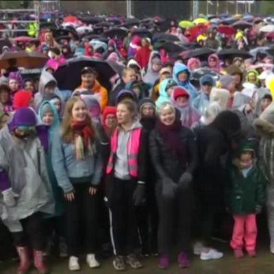 Uutisvideot: Suomen suven avaus Joensuussa
