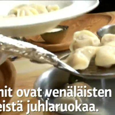 Uutisvideot: Näin leivotaan aidot venäläiset pelmenit