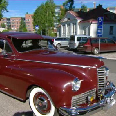 Ylen aamu-tv: Harrastuksena museoautot