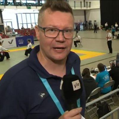 Urheilujuttuja: Taidoka Aarne Soininen, 76, SM-kisoissa