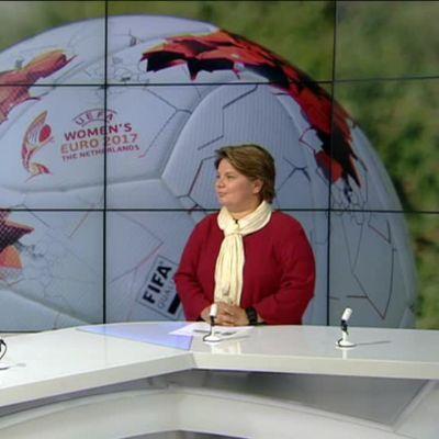 Urheilujuttuja: Näin Ylen asiantuntija ennakoi jalkapallon naisten EM-kisoja