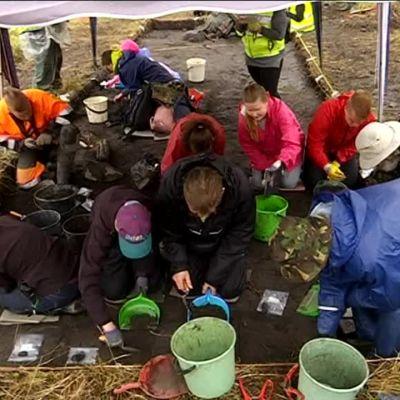 Yle Uutiset Pirkanmaa: Arkeologia kiinnostaa suomalaisia