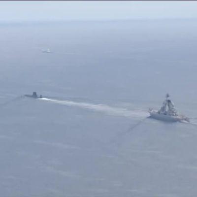 Uutisvideot: Venäläinen ydinsukellusvene saapui Suomenlahdelle