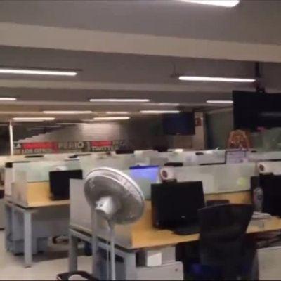 Uutisvideot: Video Meksikon järistyshetkestä