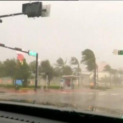 Uutisvideot: Myrskyaamu valkenee Miamissa