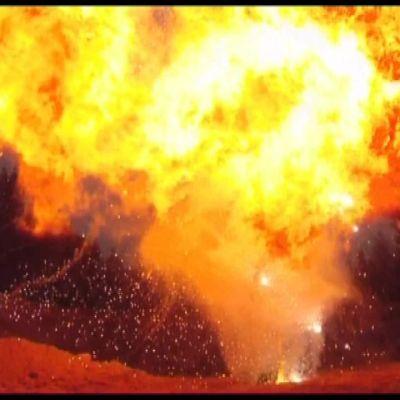 Henrin pajalla Orimattilassa kehitellään näyttäviä räjähteitä