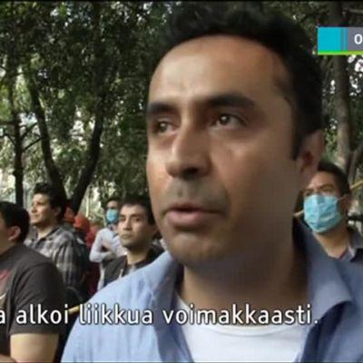 Uutisvideot: Silminnäkijät kertovat Meksikon maanjäristyksestä
