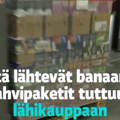 Uutisvideot: Kurkista S-ryhmän jättivarastoon