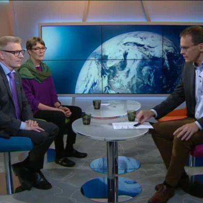 Ylen aamu-tv: Hallituksen ympäristöpoliittiset suunnitelmat