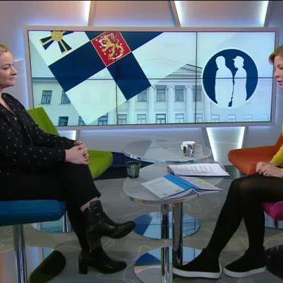 Ylen aamu-tv: Presidenttien puolisoiden rooli Suomen historiassa