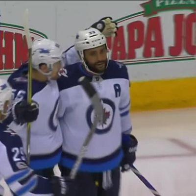 NHL: Tyhjiin maalannut Patrik Laine keräsi tehot 1+1