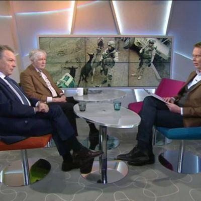 Ylen aamu-tv: Lisää suomalaisia joukkoja Afganistaniin vai ei?