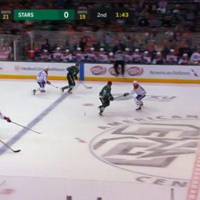 NHL: Lindell mukana tyylikkäässä osumassa