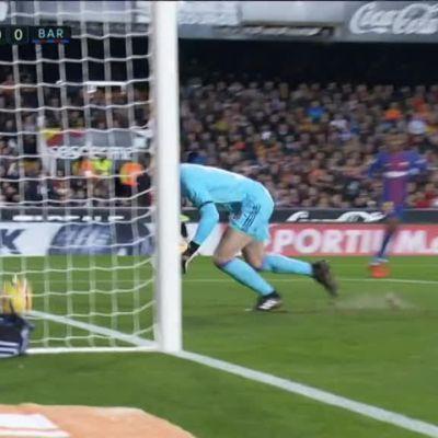 La Liga: Messin selvä maali meni tuomareilta ohi