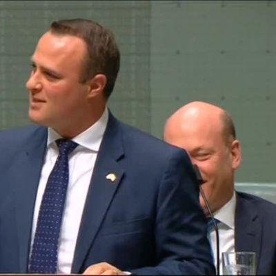 Uutisvideot: Australian parlamentissa kosinta