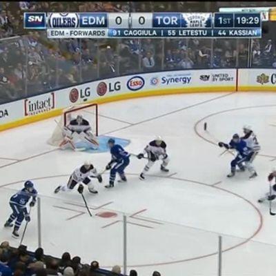NHL: Toronton salamamaali ratkaisi
