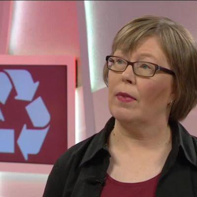 Ylen aamu-tv: Joulujätteiden kierrättäminen