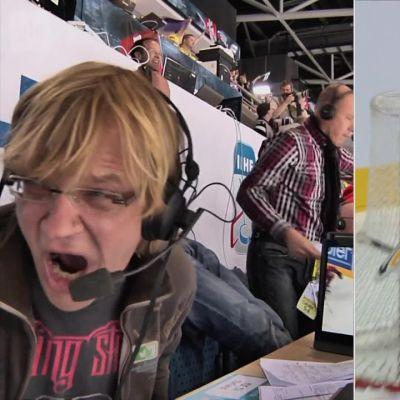"""Urheilu-Suomi: """"Loistava hyökkäys, ja Ruotsin puolustus pelataan kebab-kioskille"""" – Mertaranta antaa mennä överiksi"""
