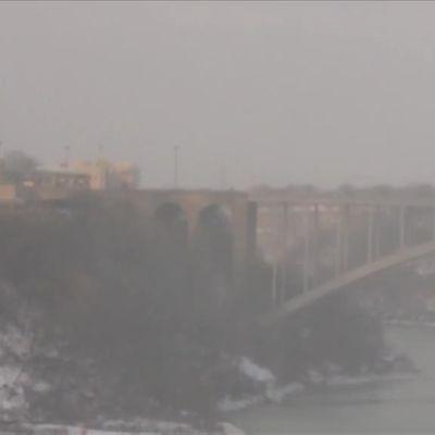 Uutisvideot: Niagaran putoukset ovat vaarassa jäätyä