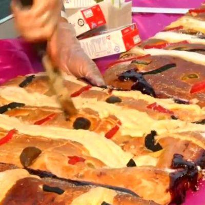 Uutisvideot: Meksikossa juhlittiin loppiaista jättikakulla