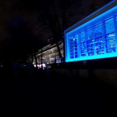 Uutisvideot: Valofestivaali Lux Helsinki alkoi