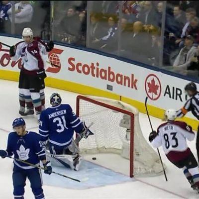 NHL: Coloradolle jo kymmenes perättäinen voitto, Rantanen ja Komarov pisteille