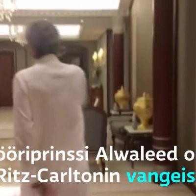 Uutisvideot: Saudiprinssi Alwaleed esittelee vankilanaan toimivaa luksushotellia
