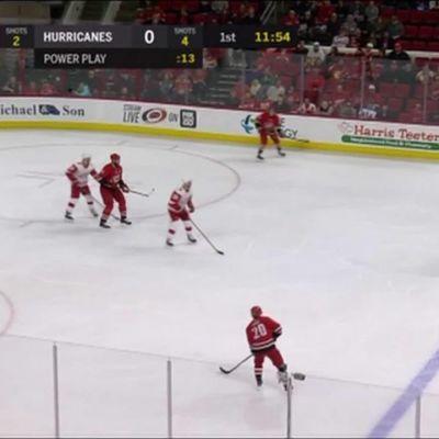 NHL: Aho ja Teräväinen juonivat ylivoimalla