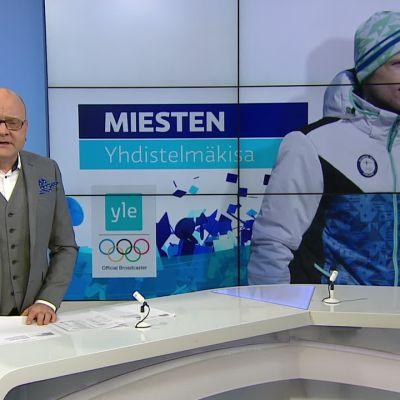 Korean olympialaiset: Mihin pystyvät miehet hiihdon yhdistelmäkilpailussa?