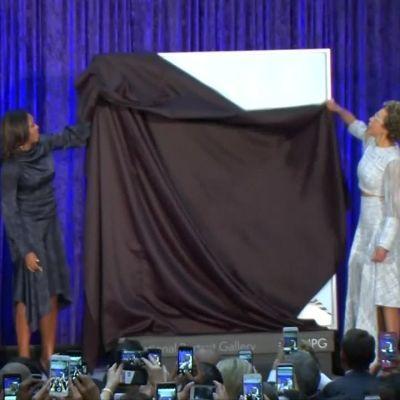Uutisvideot: Obaman pariskunnan viralliset muotokuvat paljastettiin